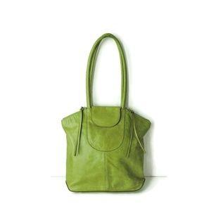 Hobo International Kiwi Green Leather bag tote